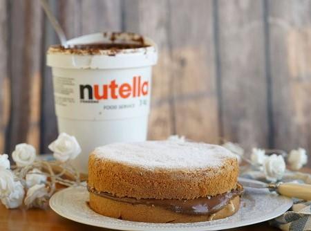 Bolo Bem-Casado de Nutella