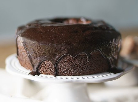 Bolo Chocolate com calda